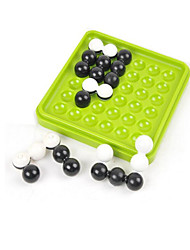 Недорогие -Настольная игра Обучающая игрушка Лабиринты и логические головоломки Игры и пазлы Игрушки Круглый Квадратная ABSКоролевский синий черный