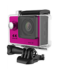 H9 Sports Action Camera 16MP 4000 x 3000 WiFi Adjustable Waterproof wireless 30fps 4x ±2EV 2 CMOS 32 GB H.264English French German