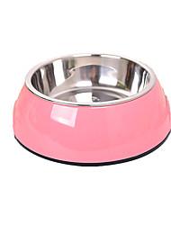 Dog Feeders Pet Bowls & Feeding Portable White Green Blue Blushing Pink
