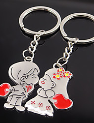 cheap -Beach Theme Classic Theme Fairytale Theme Keychain Favors Zinc Alloy Keychains - 2pc