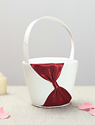 Beautiful Chocolate Brown Wedding Flower Basket Wedding Ceremony