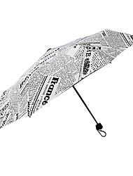 abordables -El plastico Hombre / Mujer / Chica Sombrilla Paraguas de Doblar
