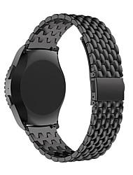 Недорогие -замена металлический браслет ремешок умные часы из нержавеющей стали для Samsung шестерня S2 классический r732 R730