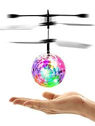 Недорогие -Mini Волшебный летающий бал Летающий гаджет Летательный аппарат Вертолет Сияние в темноте LED с инфракрасным датчиком пластик Детские Взрослые Универсальные Мальчики Девочки Игрушки Подарок