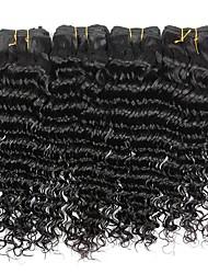 4 bundles Brazilian Virgin Remy Hair Deep Wave Human Hair Weave Extensions 400g