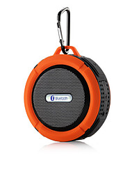 cheap -Portable Waterproof Bluetooth 3.0 Speaker  For Outdoor/Shower with Built-in Microphone & Suction Cup