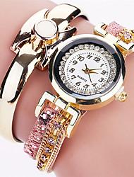 Xu™ Dámské Módní hodinky Náramkové hodinky Křemenný PU Kapela Retro Přívěsek Běžné nošení Černá Bílá Modrá Červená RůžováBílá Černá