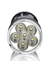 Lanternas LED LED 3000 Lumens Modo LED Baterias não incluídas Impermeável Alta Intensidade Regulável Super Leve para Campismo / Escursão