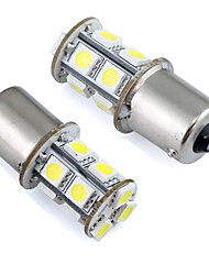 1156 Ba15s P21w LED Car Bulb 13 SMD 5050 for Tail / Brake / Turn / Parking Light 12V DC (2 Pieces)
