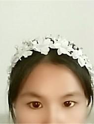 Women's Lace Rhinestone Crystal Imitation Pearl Headpiece-Wedding Special Occasion Headbands 1 Piece