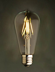 cheap -Amber 2W Edison Style 2200K ST64 Ceramic Led Filament Bulb E27