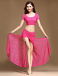 cheap -Shall We Belly Dance Outfits Women Training 2 Pieces Top Skirt