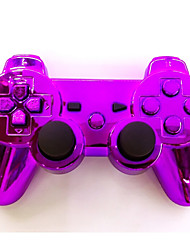 placcatura joystick bluetooth sixaxis DualShock3 wireless gamepad controller di ricaricabile per ps3