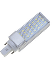 abordables -7W G24 E26/E27 Luces LED de Doble Pin Rotatoria 28 leds SMD 5630 Regulable Decorativa Blanco Cálido Blanco Fresco 550-600lm 3000-3500