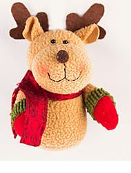 Santa Suits Elk Snowman Deer Christmas Decorations Christmas Figurines Cartoon Lovely High Quality Fashion Textile Boys' Girls' Gift