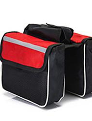 Bolsa para BicicletaBolsa para Cuadro de Bici Banda reflectante Multifuncional Transpirable Móvil/Iphone Bolsa para BicicletaBolsa de