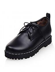 Women's Heels Spring / Summer / Fall / Winter Platform / Comfort / Novelty Synthetic / LeatheretteWedding / Office &