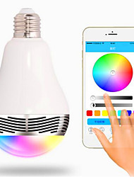 economico -RGB Senza fili Others Wireless Bluetooth 4, colorful dimming LED lights Bianco