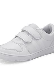 economico -Per bambino-scarpe da ginnastica-Casual-Comoda-Piatto-Di pelle-Bianco