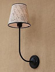 Modern Succinct Fashion Bar Restaurant Nostalgic Breakfast Cloth Cover Wall Lamp Wrought Iron Bend
