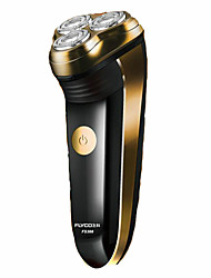 cheap -Electric Shaving Accessories Rotary Shaver Ergonomic Design LED Light Pivoting Head Pivoting and Flexing Head Flexing Heads Quick