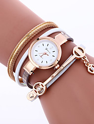 cheap -Women Fashion Dress Watches Crystal Luxury Strap Watch Leather Bracelet Wristwatches Women Quartz Wrist Watch Gift Watches Clock