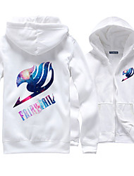 cheap -Inspired by Fairy Tail Cosplay Anime Cosplay Costumes Cosplay Hoodies Print Long Sleeves Top For Men's Women's Unisex