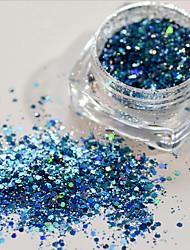3g Nail Art Glitter Powder Holographic Laser Sequins Pigment Manicure DIY