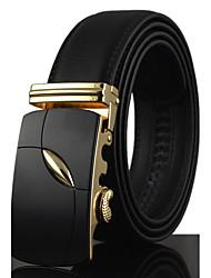 cheap -Men's Party Work Casual Waist Belt Modern Style