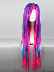 Недорогие -Парики для Лолиты Панк Градиент цвета Парики для Лолиты 80 См Косплэй парики Пэчворк Парики Назначение