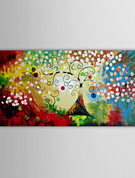 IARTS Colorful Christmas Tree Wall Art Canvas Home Decor Handmade By Talented Artist Unframed
