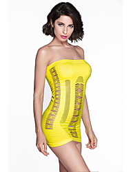 Women's Hollow-out Flirty Tube Chemise