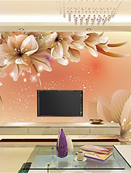 cheap -JAMMORY Art Deco / 3D Wallpaper For Home Contemporary Wall Covering  Canvas Material Adhesive required MuralXL XXL XXXL