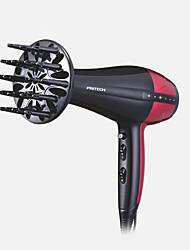Sèche-Cheveux Uniquement sur Cheveux Secs Lien de queue-de-chevalTechnologie ionique Cordon rotatif Air chaud et froid Indicateur