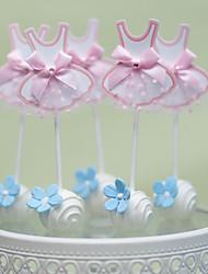 Decorazioni torte Non personalizzate Cuori CartaMatrimonio Anniversario Addio al celibato/nubilato Nascita bambino Festa di 18 anni