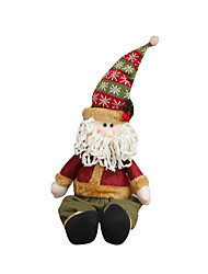 cheap -Holiday Decorations Christmas Toys Gift Bags Toys Santa Suits Snowman Deer Textile Pieces Christmas Gift