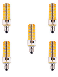 E11 LED Corn Lights T 80 SMD 5730 500-700 lm Warm White Cold White 2800-3200/6000-6500 K Dimmable Decorative AC 110/220 V