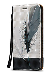 preiswerte -Hülle Für Samsung Galaxy A5(2016) / A3(2016) Geldbeutel / Kreditkartenfächer / Flipbare Hülle Ganzkörper-Gehäuse Feder Hart PU-Leder für A5(2016) / A3(2016) / A5