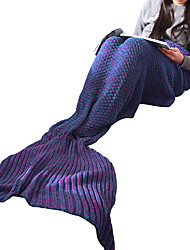 Mermaid Tail Fairytale Female Halloween Christmas New Year Festival/Holiday Halloween Costumes Solid