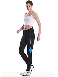 Mysenlan Pantaloni da ciclismo Per donna Bicicletta Pantalone/Sovrapantaloni Calze/Collant/Cosciali PantaloniTraspirante Asciugatura