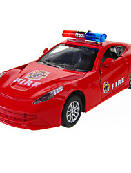 cheap -Toy Cars Model Car Educational Toy Police car Ambulance Vehicle Fire Engine Vehicle Toys Novelty Simulation Car Metal Alloy Metal Alloy