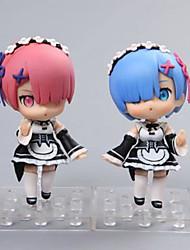 Figure Anime Azione Ispirato da Cosplay Rem PVC 10 CM Giocattoli di modello Bambola giocattolo