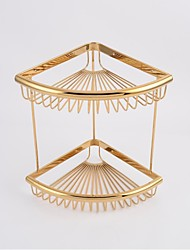 Bathroom Shelf / Gold Brass /Contemporary
