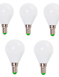 cheap -EXUP® 7W 800lm E14 E26/E27 LED Globe Bulbs G45 12SMD 2835 Decorative Warm White Cold White AC 220-240V