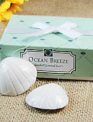Seashells Soap Favors Beter Gifts® handmade Wedding Favours