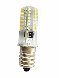 cheap -280-300 lm E14 E11 E12 Decoration Light T 64 leds SMD 3014 Dimmable Warm White Cold White AC220 AC 85-265V