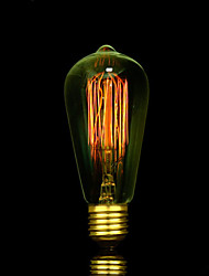 Недорогие -источник bofa st58 e27 25w art edison tungsten deco light (85v-265v)