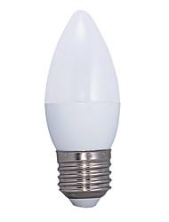 E26/E27 LED kulaté žárovky C37 14 lED diody SMD 2835 Teplá bílá 3000lm 3000KK AC 220-240V