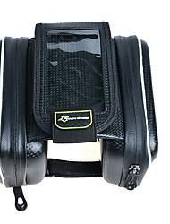 Недорогие -ROCKBROS Сотовый телефон сумка Бардачок на раму Сенсорный экран Водонепроницаемость Дышащий Велосумка/бардачок Нейлон Велосумка/бардачок Велосумка iPhone X / iPhone XR / iPhone XS