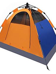 Soaring® 2 osoby Stříška Přístřešky a plachty Dvojitý Camping Tent jeden pokoj automatický stan Dobře větraný Voděodolný Rychleschnoucí